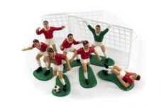 Football Cake Decoration Set in Red